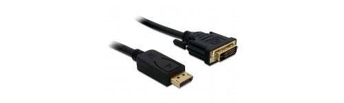 Cables DVI/Adapt.